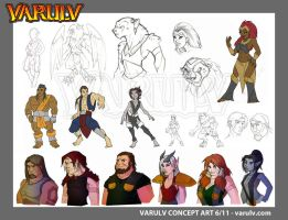 VARULV Book II Concepts by dawnbest