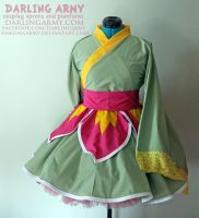 Meganium - Pokemon - Kimono Cosplay Commission by DarlingArmy