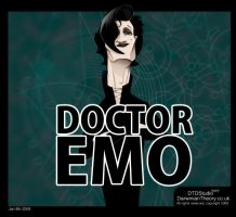 Matt Smith: Dr Emo by dtdstudio