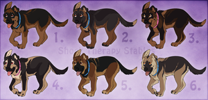Judas x Avery Pups- CLOSED by ShockTherapyStables
