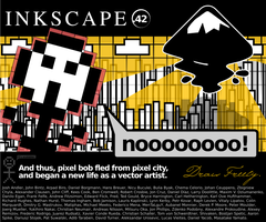 Inkscape .42 About Screen 2 by Chromakode