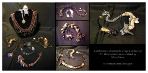Chainmaile dragon collection by ZombieHun