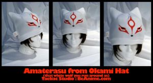 Hat: Amaterasu from Okami by taeliac