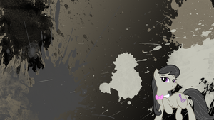 Octavia Splatter Wallpaper by brightrai