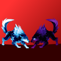 Ultimate Wolf Sorcerus Showdown by GraypathIcefeather
