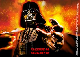 Darth Vader: ROTS poster by David-c2011