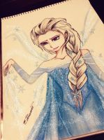 Elsa (Frozen) by queentinkerbeth