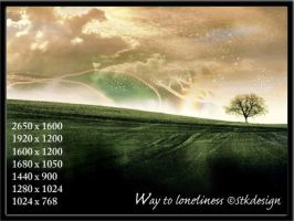 Way to loneliness by stkdesign