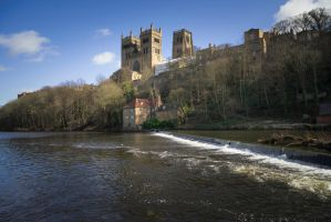 Durham Cathedral by StephenJohnSmith