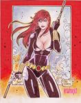 BLACK WIDOW by RODEL MARTIN (10252013) by rodelsm21