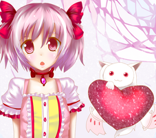 Madoka fan art by taki-desu