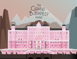 The Grand Budapest Hotel - Art Deco by Daniela-Baez