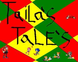 cover for Tailas Tales' by tailsdollcreator