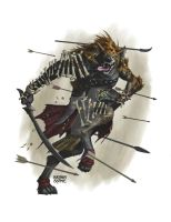 Gnoll runner by BryanSyme