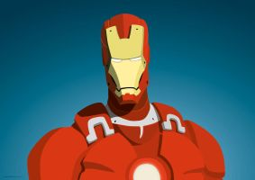 Iron Man by maximnikitin