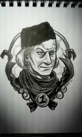 1st Doctor: warm-up art by rori