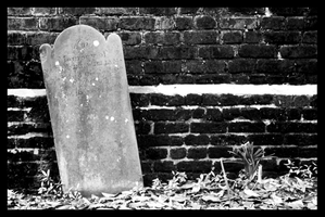 The Wall of Tombstones 2 by Anti-conformity