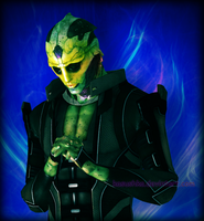 Thane Krios by kasushka
