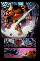 Wolverine - Sample Page 2 by wilson-go