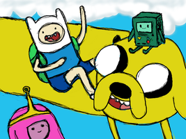 Adventure Time by WhiteWynterHymnal