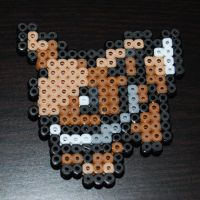 Bead Sprite - No. 133 Eevee by SugarCubeCreations