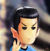SPOCK LIVE LONG AND PROSPER by CharlyChive