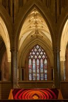 Wells Cathedral altar by CharmingPhotography