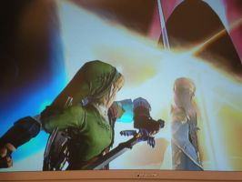 Zelda and Link in Brawl by blcklblsctylvr12