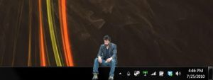 Sad Keanu Rainmeter Skin by Peach-Os