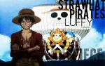 Straw Hat Pirates, Luffy. by fogdark