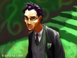Miguel Sanchez, Slytherin by molepunch