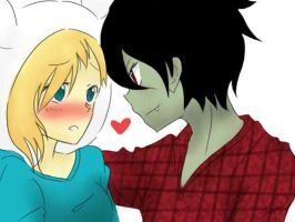 Marshall Lee x Fionna by yuikasahara