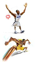 NBA stars6 by A-BB
