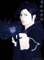 Gackt packing heat by Katala