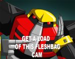 Get a load of this fleshbag!! by crovirus