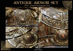 Antique Male armor by Deakath