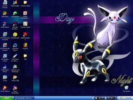 My Current Desktop by HyperSonic16