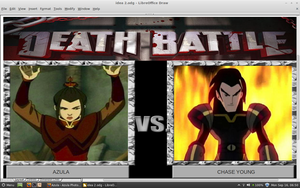 Azula vs Chase Young by samvadar