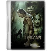 The Legend of Tarzan (2016) Movie DVD Icon by A-Jaded-Smithy