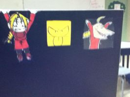 HOW MAH DESK LOOKS LIKE by izinuyasha190