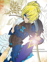 League of Legends Championship Riven Skin Colored by Tyson-x