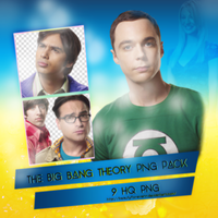 PNG Pack(248) The Big Bang Theory by BeautyForeverr