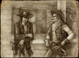 Somewhere on Wild West by Skirill