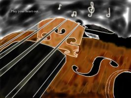 violin by Ted-The-Fish