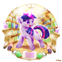 Twilight Sparkle by tatugon