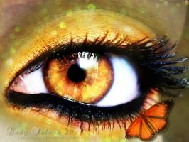 Butterfly Eyes by Susaleena