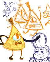 The name's Bill Cipher by quailtea