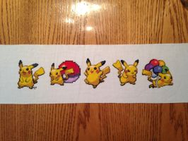 Pikachu Banner by tlmorganfield