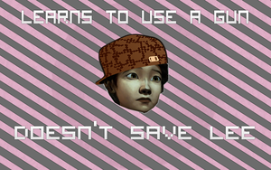 Scumbag Clementine by ThinkPixel