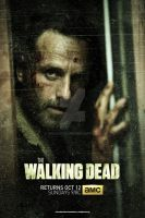 The Walking Dead: Season 5 - Teaser Poster by spacer114